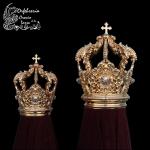 Juego de Coronas para Virgen y Niño