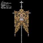 Mástil Simpecado y corona Virgen