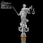 Remate virtud justicia