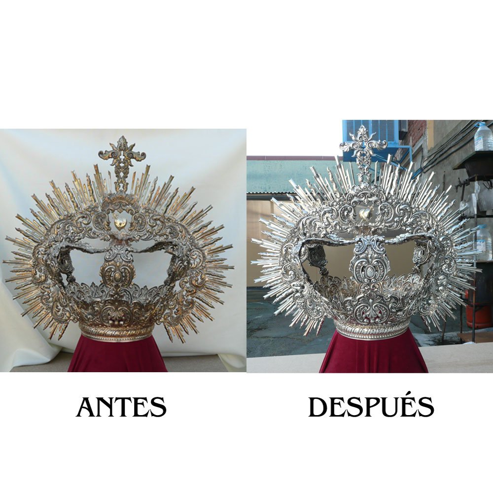 Corona Crucifixion Malaga