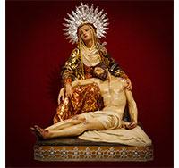 Virgen de la Piedad - ocasión