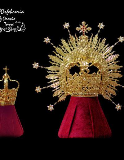 Corona 10-8cm y Corona Niño 3cm