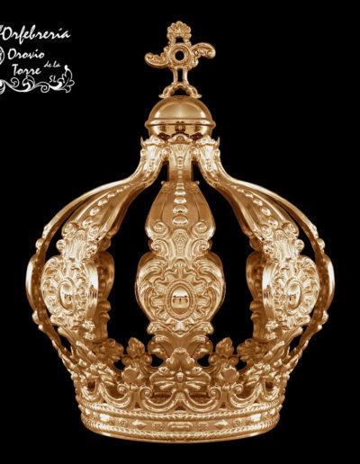 Corona cestillo 10cm-Fátima