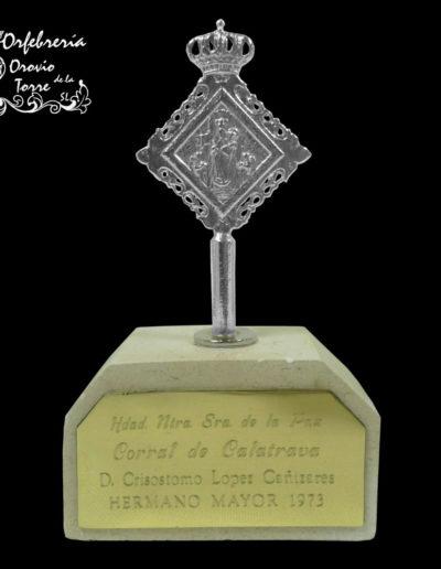Trofeo medalla-Corral