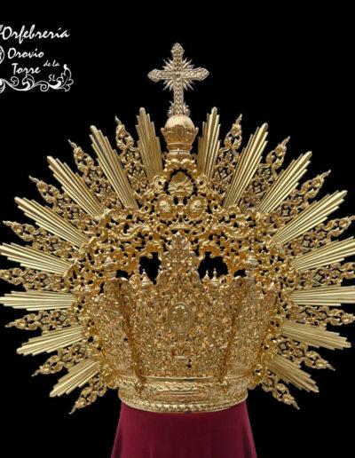 Corona plata Santa Cena-Jaen