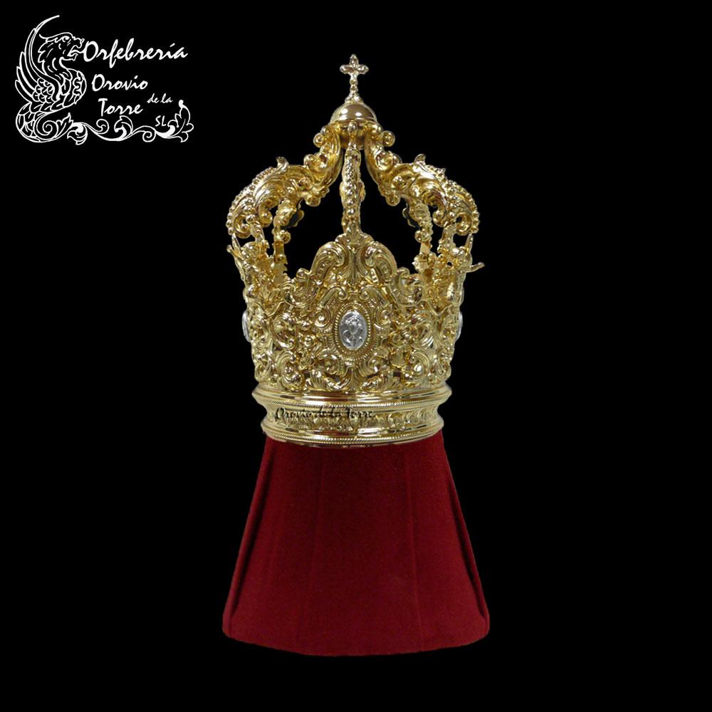 Corona cestillo 08 de 16 cm con imperiales