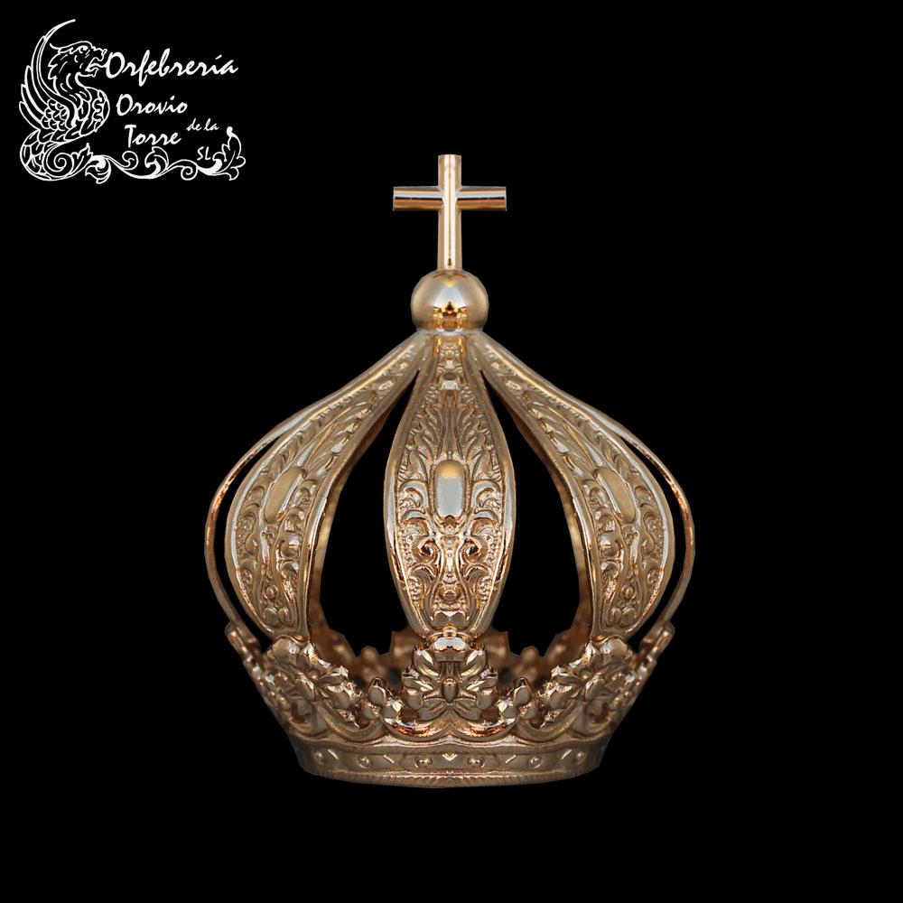 Corona cestillo con imperiales de 3,5 cm