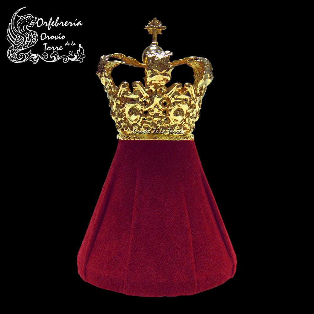 Corona cestillo con imperiales de 5 cm (BCN)