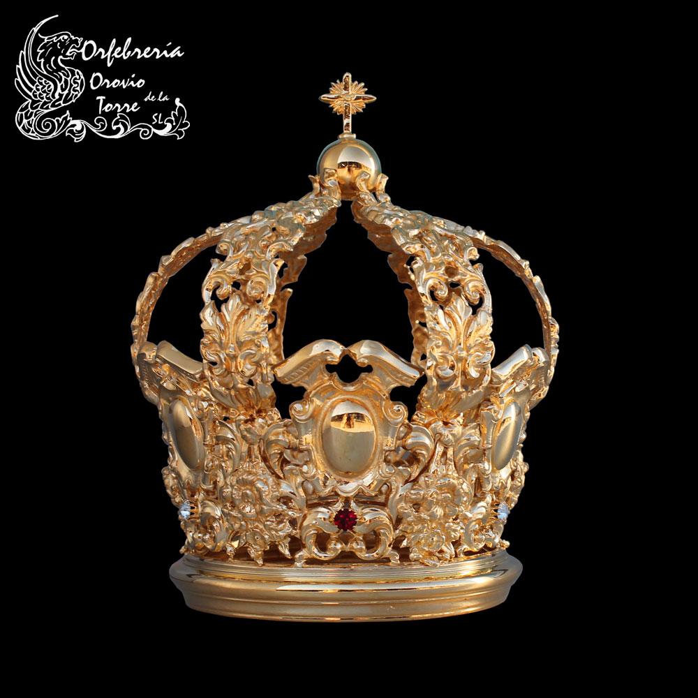 Corona cestillo con imperiales de 9 a 10