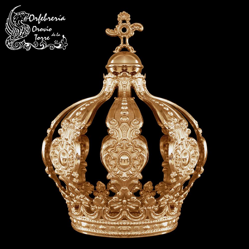 Corona cestillo Virgen