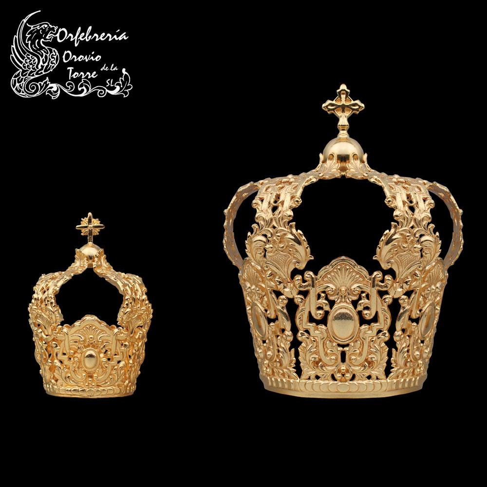 Juego de Coronas para la Virgen de la Cabeza