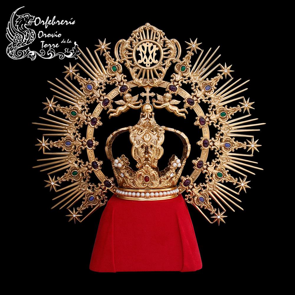 Réplica corona Vg Piedad - Santa Olalla