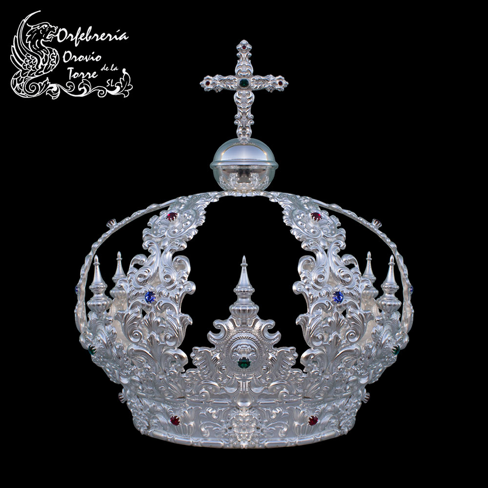 Corona cestillo de 16,5 cm con imperiales