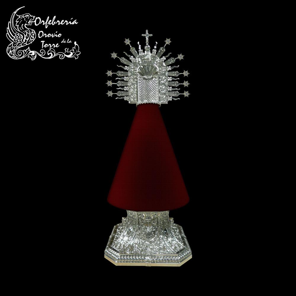 Peana para Virgen de Guia