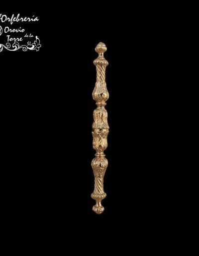 Cetro repujado Virgen 13cm
