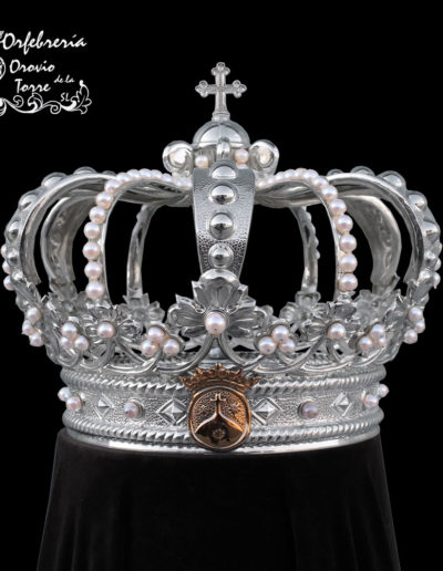 Corona cestillo 16cm-Carmelita