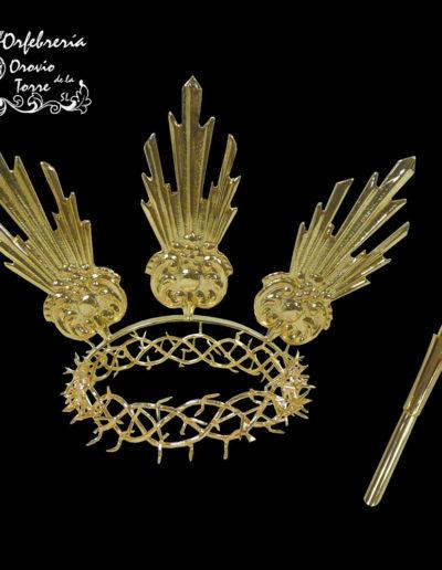 Corona espina con potencias y caña-Herencia
