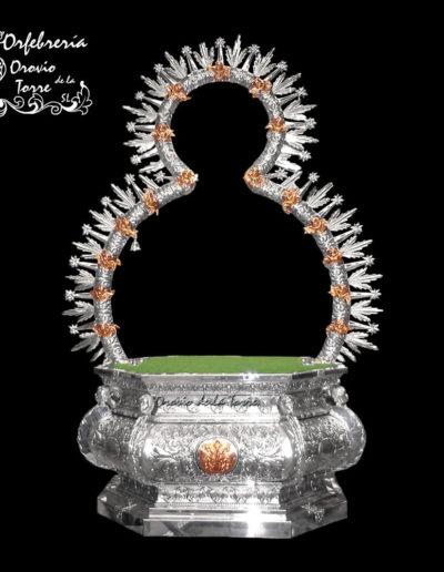 Peana y radiero-Virgen de la Cabeza