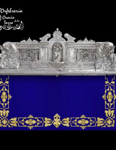 Trono Crucifixión Málaga